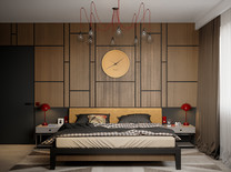 Guest Contemporary Bedroom